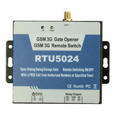 Gate Opener Relay Switch Wireless Remote Access Control For GSM 3G