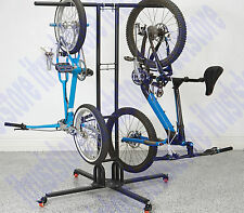 Movable Mobile Bike Storage Rack Swivel Casters Stand Holder 6 Bicycle Capacity