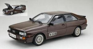 Audi Quattro Road Voiture Métallique Marron 1:18 Model 4162 Sun Star