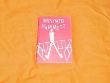 imputato hammett opuscolo 1993