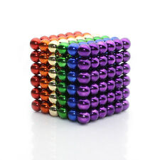 Multi-Color 216 5mm Magnet Ball Magic Beads cube Neodymium Sphere 3D Puzzle ball