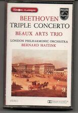 Cassette audio BEETHOVEN Triple concerto BERNARD HAITINK