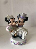 "Disney's MICKEY & MINNIE MOUSE Bride & Groom WEDDING Sri Lanka 6"" Figurine"