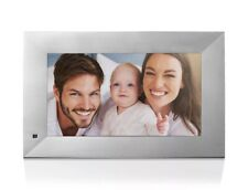NIX Lux Digital Photo Frame 13.3 inch X13B, Metal Electronic Photo Frame USB2.0