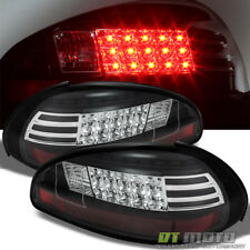 Blk 1997-2003 Pontiac Grand Prix Lumileds LED Tail Lights Brake Lamps Left+Right