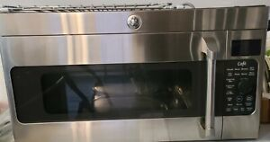 Beautiful GE Cafe  Stainless Steel Over Stove Convection Microwave