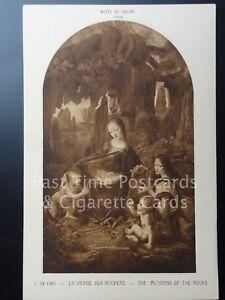 Old PC: Da Vinci - THE MADONNA OF THE ROCKS - Musee du Louvre