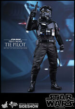 "Hot Toys Star Wars Force Awakens Tie Fighter Pilot 1/6 12"" Figure MISB In Stock"