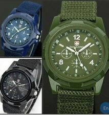 Genuine Wrist Watches Black & Green Colour Available.
