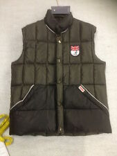 Puffa Downfilled Waistcoat Large Black/Grey Union Jack