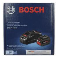 Bosch GXS18V-01N14 18V Li-Ion Kit w/ BC1880 Charger and GBA18V63 6.3Ah Battery