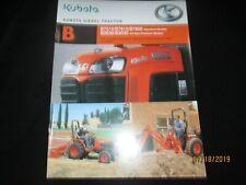 KUBOTA DIESEL TRACTOR B B7510, B7610, B7800, B2630, B3030 Brochure Original 2005