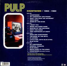 PULP COUNTDOWN 1992-1983 DOPPEL ALBUM LP VINYL SELTEN