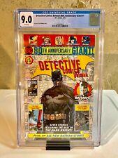 Detective Comics: Batman 80th Anniversary Giant #1 - Rare Walmart Variant - CGC