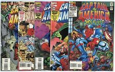 Captain America #434 - 454  Complete Run  avg. NM 9.4 white pages  Marvel  1994