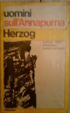 HERZOG - UOMINI SULL'ANNAPURNA , 1970 NUOVO SIGILLATO