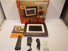 """Smartparts Smart Frame Wood Digital Picture Frame 7.0"""" Viewable Image - SPX7E"""