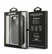 Cover Rear Case Cover - Ferrari Original - IPHONE 6 6S 7 8 - Black Carbone