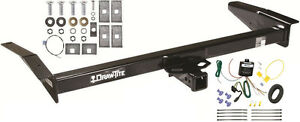 1981-2011 LINCOLN TOWN CAR TRAILER HITCH W/ WIRING KIT DRAW-TITE CLASS III NEW