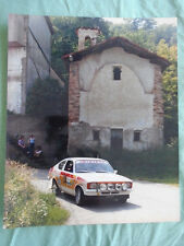Opel Rallying photo brochure c1983 by Foto Don No 25
