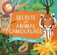 Usborne/Kane Miller - Secrets of Animal Camouflage (Shine-a-Light) NEW