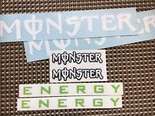 Monster pegatinas set 6st. sticker tuning turbo Kawasaki yamaha honda ktm