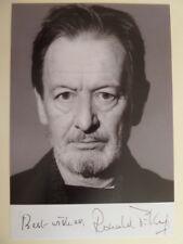 - kdz-ronald Pickup (gb) - autografiada tarjeta de fotografía 15x22cm