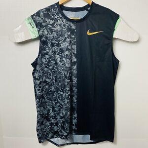 Nike Pro Elite Sponsored 2019 Running Singlet Top Men Size:Large Tall AJ5943-010