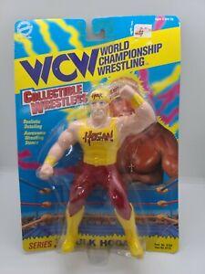 Vintage 1994 WCW Hulk Hogan 7 inch Wrestling Action Figure New On Card