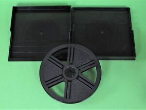 90m SUPER-8 Film-Leerspule SCHNEIDER + Box, Selbstfangspule Filmspule