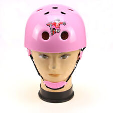 Kids Girl Bicycle Helmet Skating Skateboard Head Protective Cycling Scooter PINK
