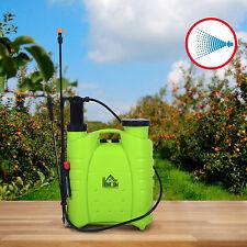 HOMCOM Backpack Poly Gardening Sprayer Plants Pump Pest Control Equipment Tool