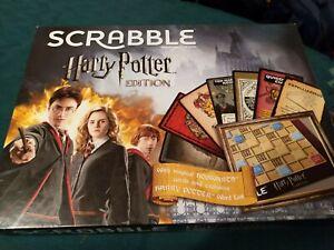 Harry Potter Version SCRABBLE Board Game VGC COMPLETE instructions Set