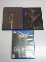 PS4 Bloodborne The Old Hunter's Edition with guide book and mini soundtrack CD
