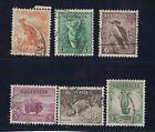 1937/8 Australia Zoological Perf 13 1/2 x 14 SG 164/174 fine used set of 6