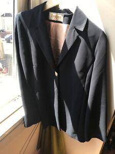 Roman Originals Size 14 Blue Suit Jacket (S8)