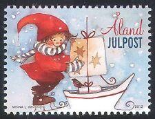 Aland 2012 Christmas/Greetings/Presents/Boat/Sailing/Animation 1v (n41590)