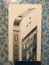 scatola per apple iphone 4S 16GB only box
