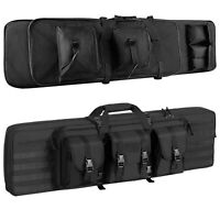 39 46 inch Tactical Rifle Gun Carbine Bag Range Padded Double Pistol Carry Case