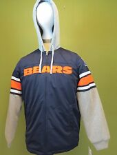 ade9f1106 L Men s NFL Chicago Bears Thermal Hooded Sweat Jacket Team Apparel
