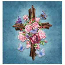 Embroidery 5D Diamond Painting DIY Flower Cross Stitch Crafts Home Wall Decor