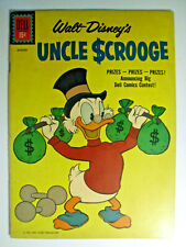 Walt Disney's Uncle Scrooge #34, Mythtic Mystery, Fine, 6.0, Off-White Pages