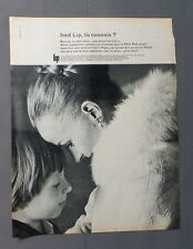PUB PUBLICITE ANCIENNE ADVERT CLIPPING 31817/ MONTRE LIP POUR FEMME HOMME ENFANT