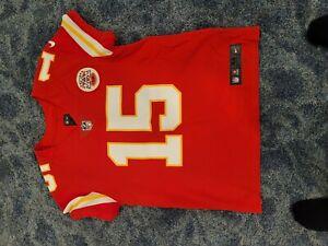 Patrick Mahomes Kansas City Chiefs Nike Vapor  Elite Authentic Jersey 44