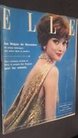 Revista Elle N º 621 Revista Semanal Noviembre 1957 ABE