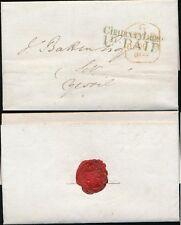 Go 1840 London recevant maison Chancery Lane 1D payé en vert à Yeovil