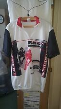 True Vintage MOUNTAIN BIKE SPECIALE CORSA T Shirt tasche nel retro 44 sul petto