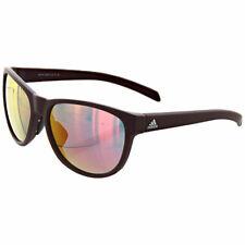 Adidas унисекс солнцезащитные очки wildcharge матовая бордовая рама A42500-6058-57-16-140
