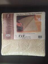 NEW Rug Saver Non Slip Rug Carpet Pad 4x6 Legget Platt