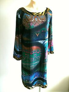 LOVELY SHIFT DRESS BY CHARLIE BROWN, MARKED SIZE 16, EX CONDITION,